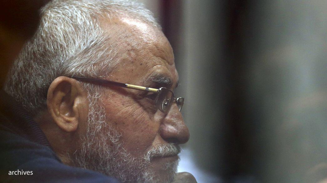 محكمة مصرية تصدر أحكاما بالإعدام بحق 22 من قادة وأعضاء جماعة الإخوان المسلمين