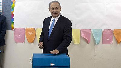 Netanyahu votes as polls open in Israeli election