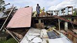 El archipiélago de Vanuato destrozado tras el paso del ciclón Pam
