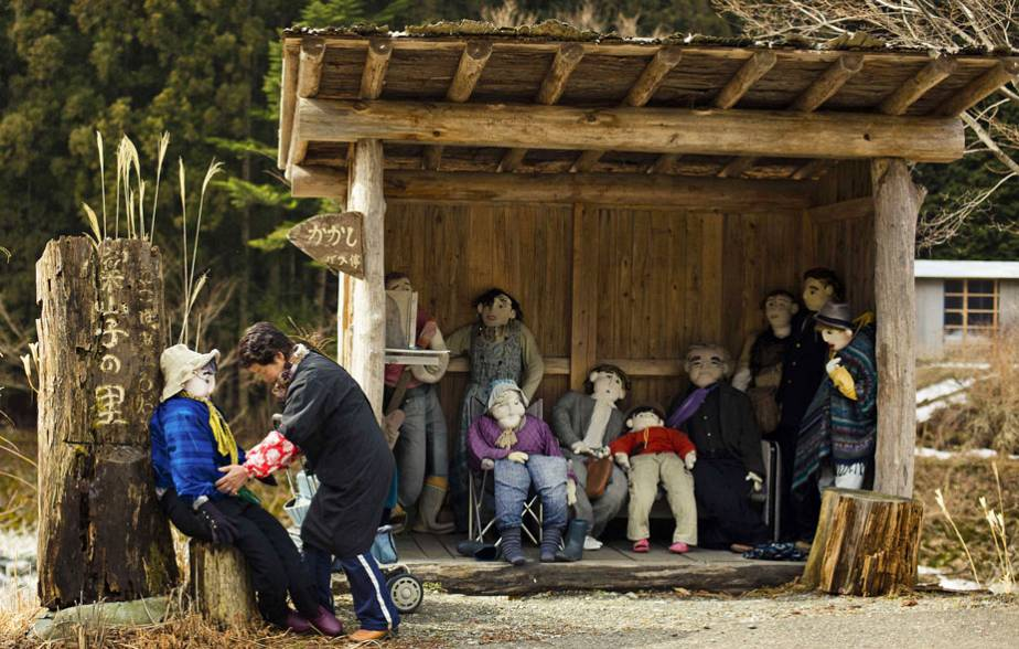 Le village japonais des épouvantails