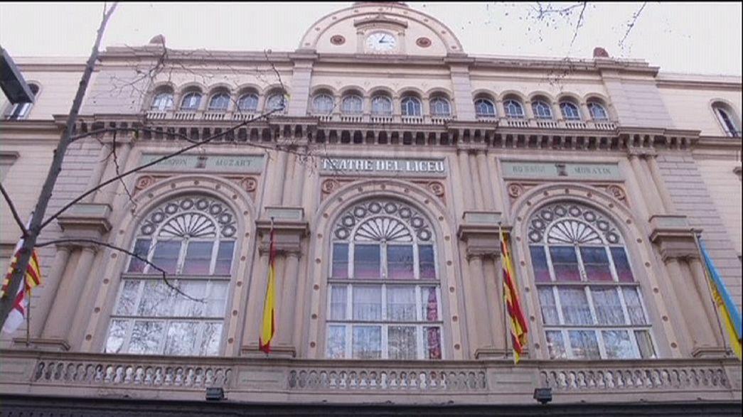 """مسرح """"ليسيو"""" الكبير في برشلونة يجذب معحبي الأوبرا من جديد"""