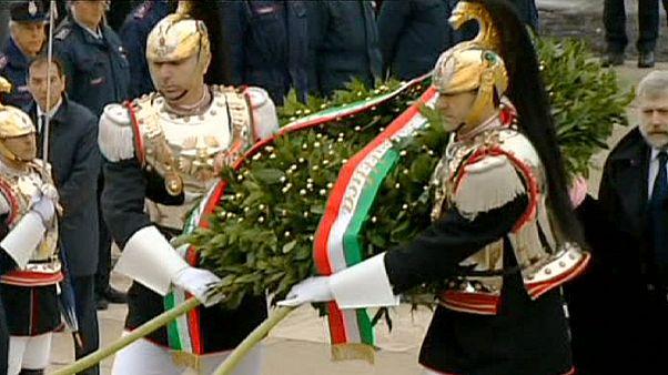 Fiesta nacional en Italia, la primera como presidente para Mattarella