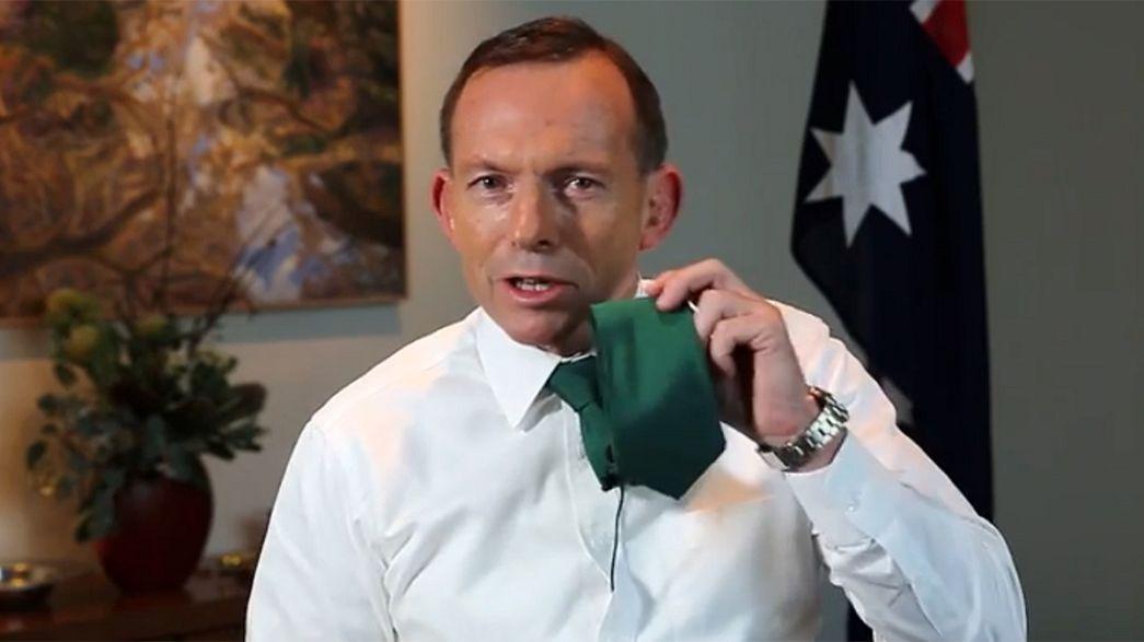 Avustralya Başbakanı Abbott'dan St. Partick Gafı