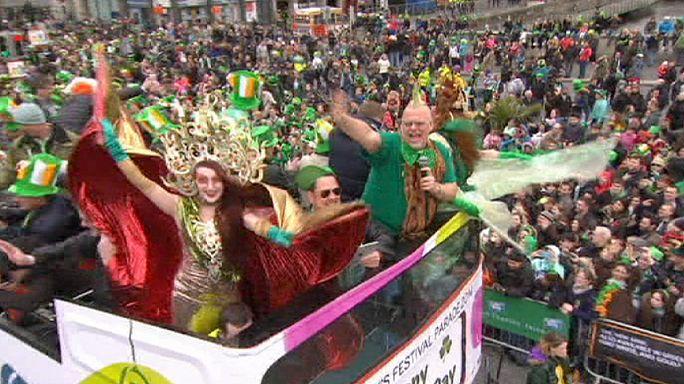 İrlanda Aziz Patrick günü heyecanı