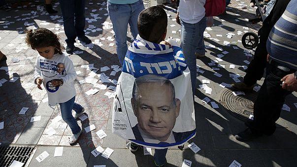 İsrail'de çekişmeli seçim Netanyahu için referandum