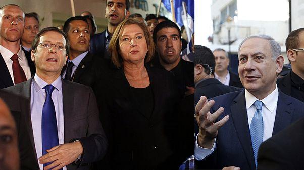 Große Koalition in Israel? Netanjahu und Widersacher gleichauf
