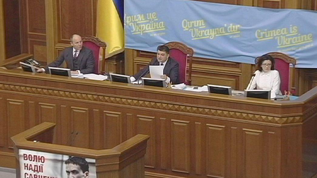 Kiew beschließt Sonderstatus für Separatistengebiete