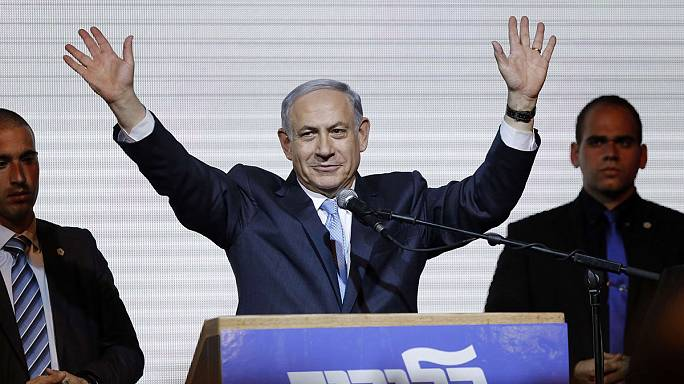 Israeli PM Benjamin Netanyahu claims victory in tightly fought Israeli election