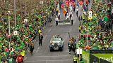Parade zum St. Patrick's Day