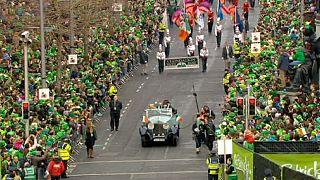 La parade de St Patrick