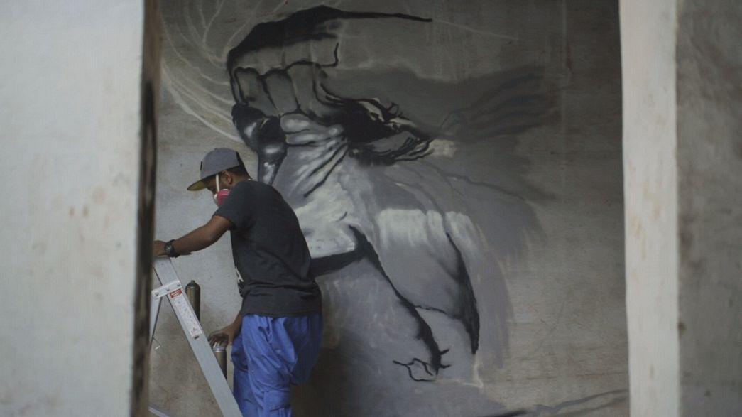 L'arte da strada in Arabia Saudita