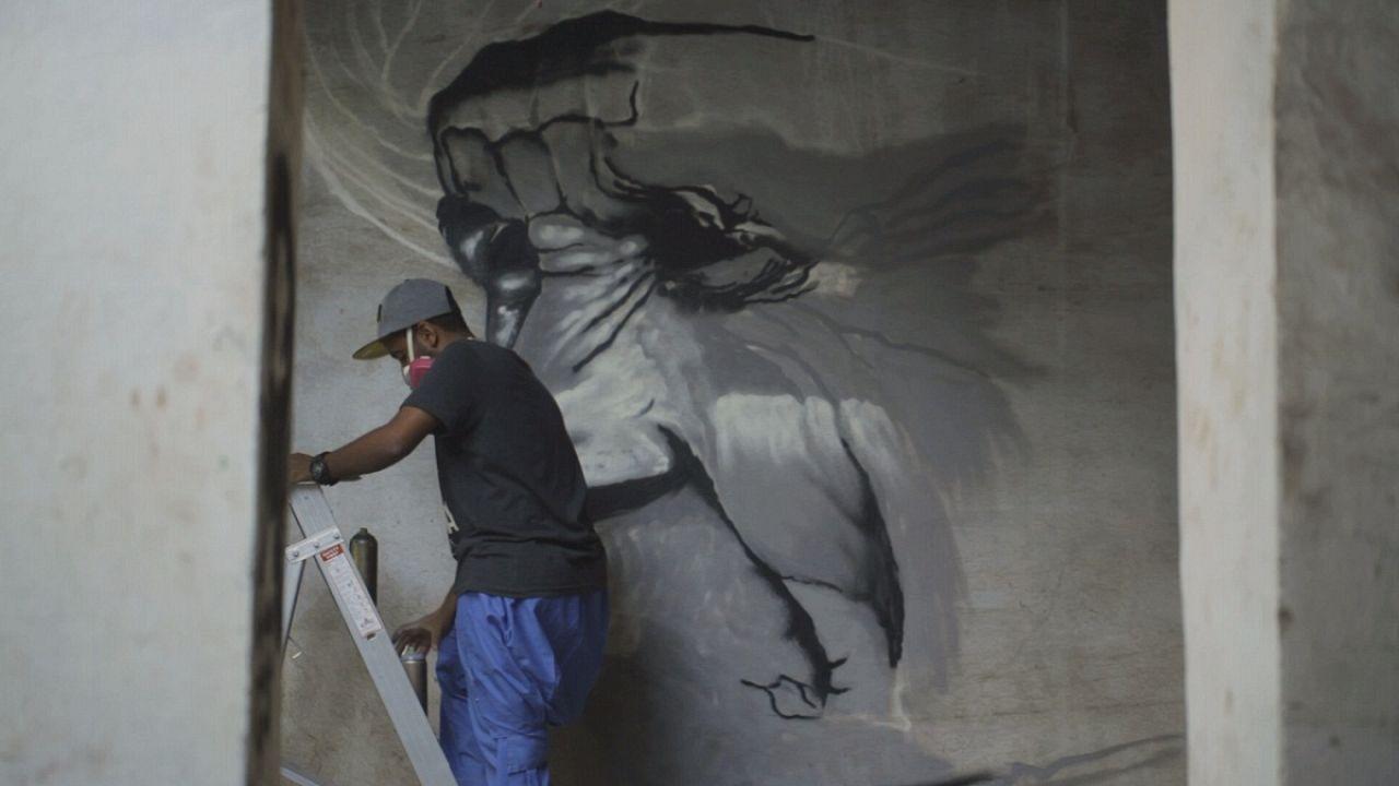 """Akcióban a szaúdi graffitisek - """"A művészet megengedett"""""""