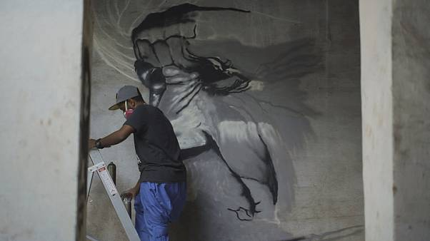 Suudi Arabistan'da sokak sanatı ilk kez sergide
