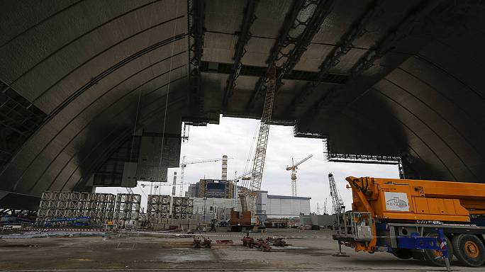 قبة جديدة تغطي مفاعل تشرنوبل قريبا