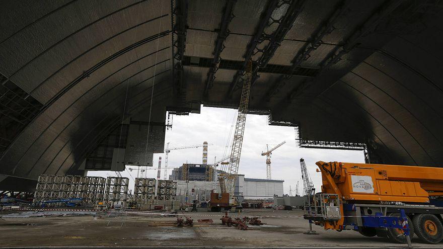 Tschernobyl: Bau der neuen Schutzhülle am Havariereaktor geht voran