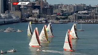 Volvo Ocean Race берет курс на мыс Горн