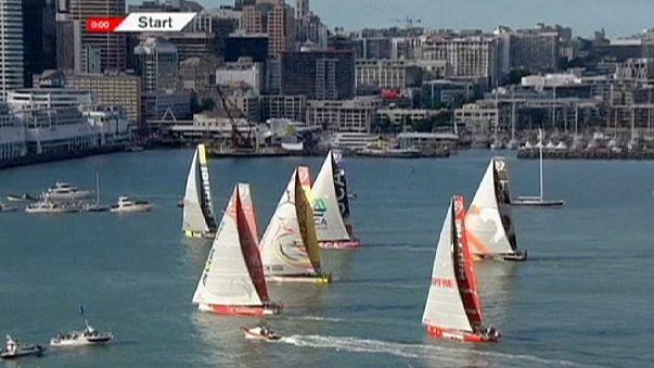 المرحلة الخامسة من سباق فولفوللمحيطات تنطلق من سواحل أوكلاند