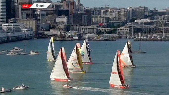 Volvo Ocean Race nimmt wieder Fahrt auf