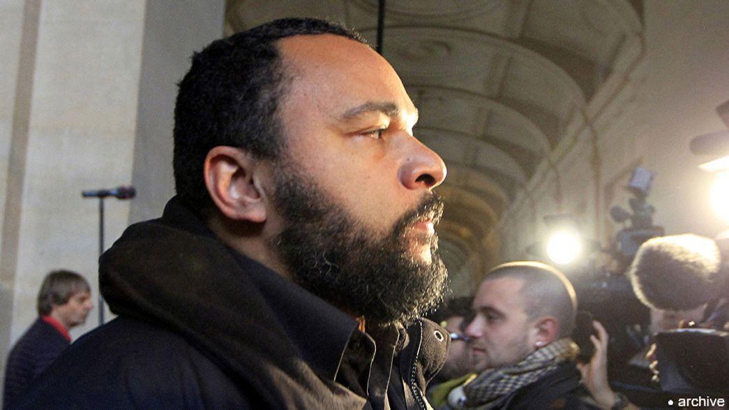 Felfüggesztett börtönt kapott Dieudonné terrorizmus dicsőítése miatt
