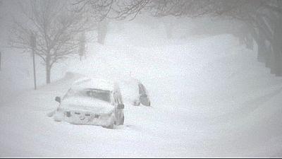 Kanadas Ostküste versinkt im Schnee