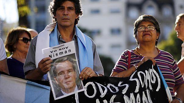 Buenos Aires. Manifestazione in memoria di Nisman a due mesi dalla morte