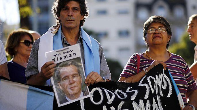 Manifestation pro-Nisman en Argentine