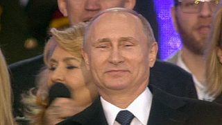Russia celebrates Crimea takeover