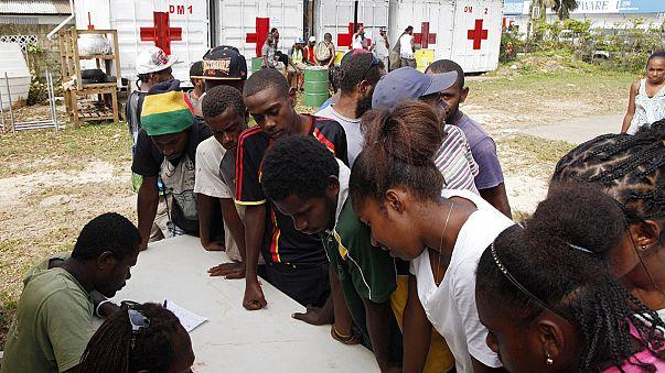 Vanuatu nach dem Wirbelsturm