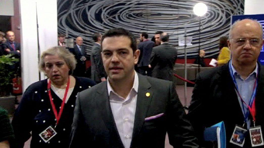 Grécia domina atenções da Cimeira Europeia