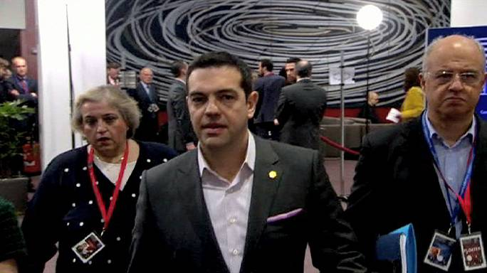 Greece's Tspiras set for showdown talks with Germany's Merkel