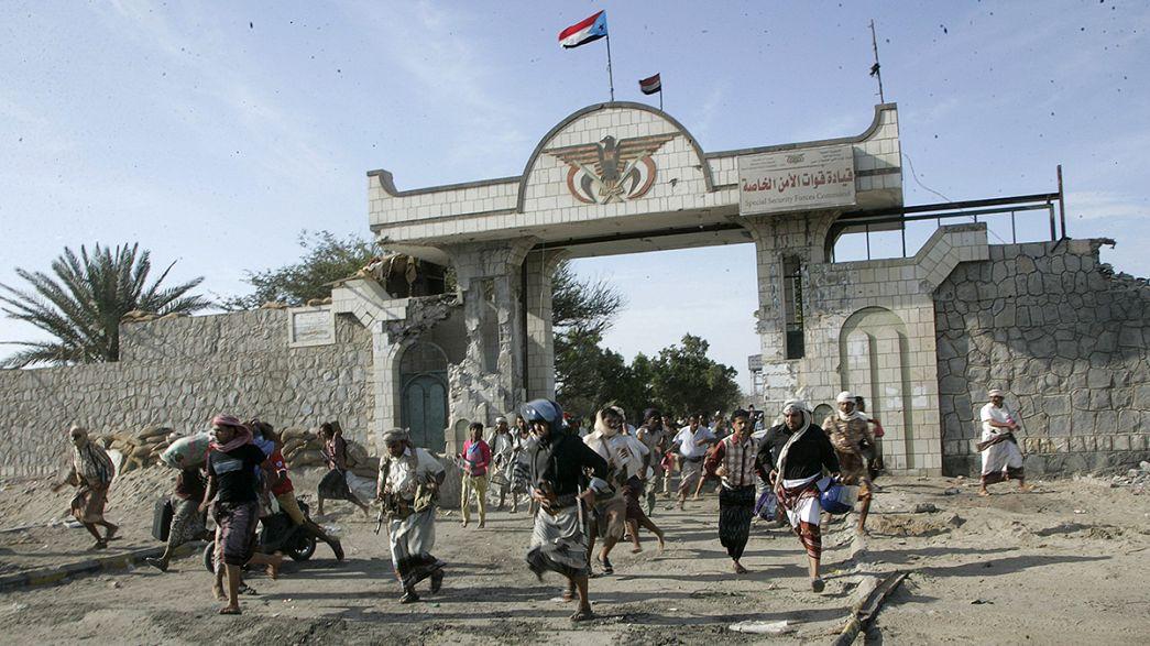 Jemen: Luftangriffe auf Präsidenten-Amtssitz