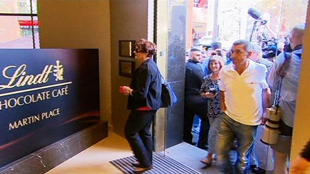 Sydney trotzt dem Terror: Café Lindt wiedereröffnet