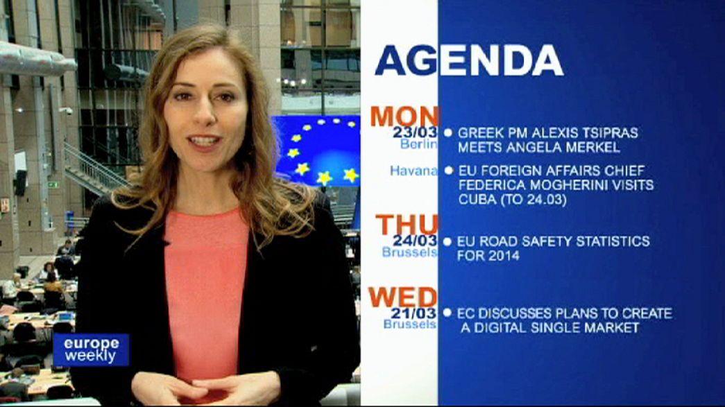 برنامج يوروب ويكلي في الاسبوع الثالث من شهر آذار مارس 2015
