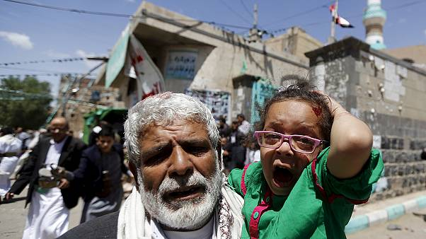 Yemen mosque suicide bombings death toll passes 100