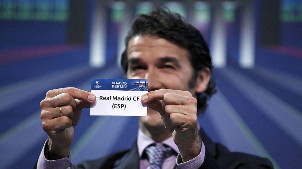 Atlético-Real Madrid y PSG-Barcelona en cuartos de Liga de Campeones