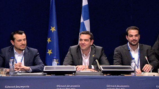 مذاکرات با یونان در حاشیه کنفرانس سران اتحادیه اروپا