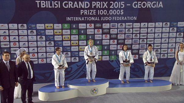 La yudoca Julia Figueroa se quedó a un paso del oro en el GP de Tiflis