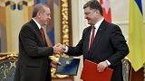 أردوغان من كييف يؤكد على الشراكة الاستراتيجة بين تركيا وأوكرانيا