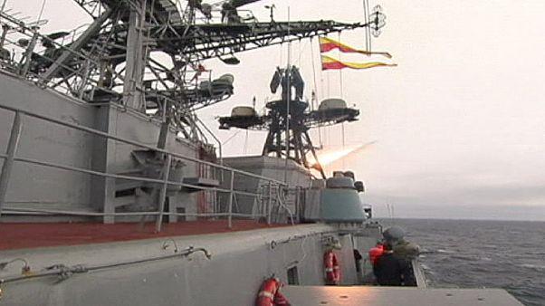 نمایش قدرت دریایی روسیه در دریای بارنتز