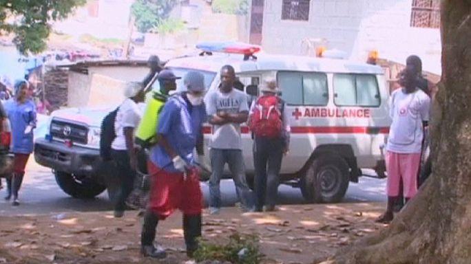 """Либерия: новый случай заражения вирусом """"Эбола"""""""