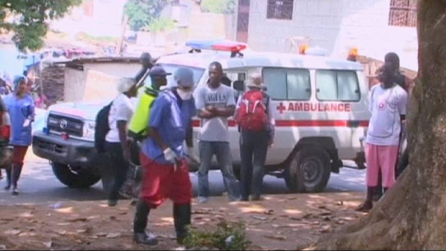 Ebola: Rückschlag durch Neuinfektion