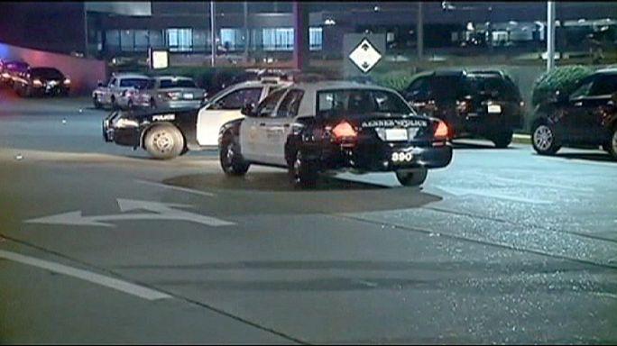 Таксист с мачете напал на полицейских в аэропорту Нового Орлеана