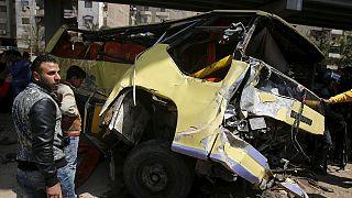 Автокатастрофа в Египте, десятки погибших
