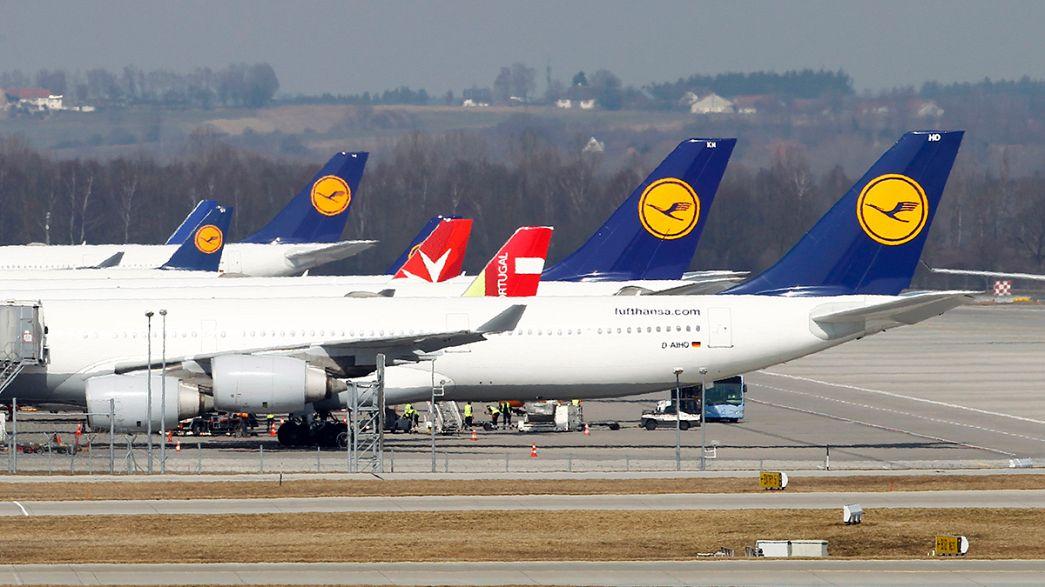 Cuarto día de huelga de los pilotos de Lufthansa
