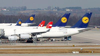 Quarto dia de greve na Lufthansa