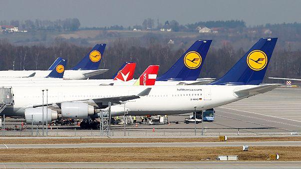Lufthansa flight disruptions may continue into Sunday