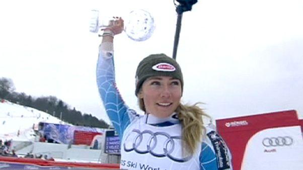 Αλπικό Σκι: Η Σιφριν νικήτρια στο σλάλομ, η Μάζε προσπέρασε την Φένινγκερ
