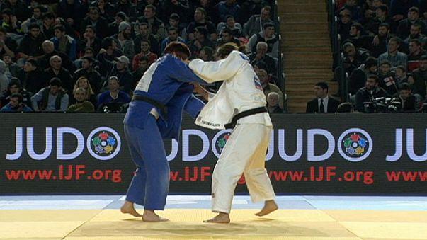 La favorita Trstenjak gana el oro ante Tsedevsuren en el GP de Judo de Tiflis