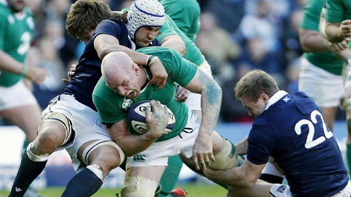 بطولة الأمم الست للروغبي: ثنائية على التوالي لإيرلندا
