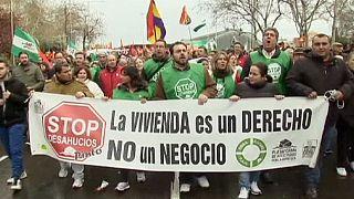 Испания: в Мадриде прошла манифестация протеста против политики жесткой экономии